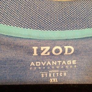 Izod Shirts - Izod ~ Advantage Performance Natural Stretch Polo